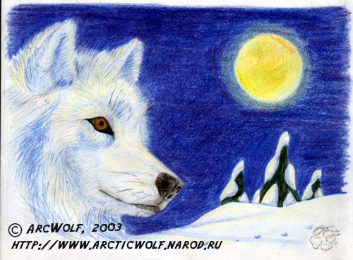 Рисунки вышивки волки